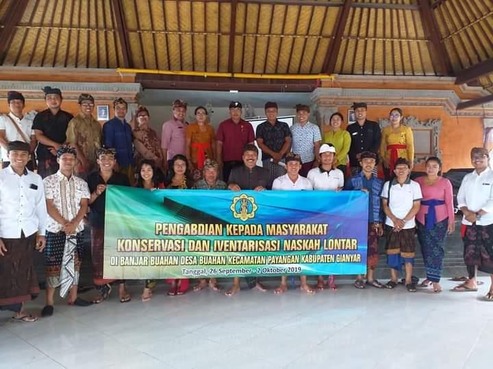 Pengabdian Masyarakat Prodi Magister Pendidikan Bahasa Bali di Desa Buahan Gianyar