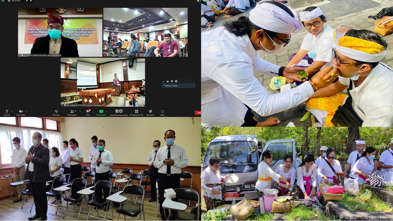 Pascasarjana UHN IGB Sugriwa Denpasar Menggelar Kegiatan Orientasi Mahasiswa Baru Dan T.A. 2021/2022